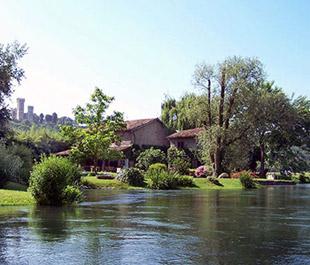Ville per matrimoni verona location eventi aziendali - La finestra sul fiume valeggio ...